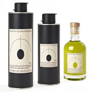 Huile d'Olive et Basilic